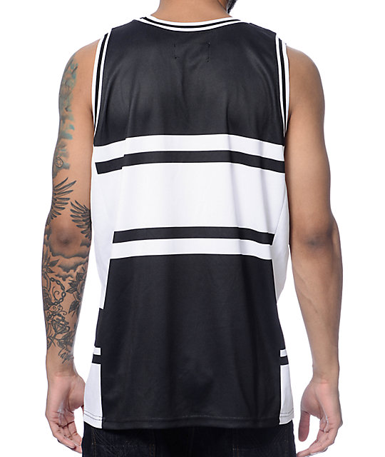 Famous Self Made Jersey Black Tank