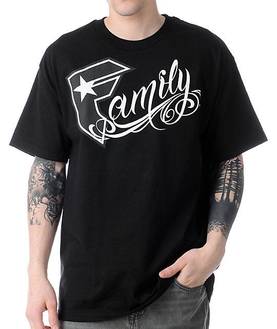 Famous Stars & Straps BOH Family Black T-Shirt