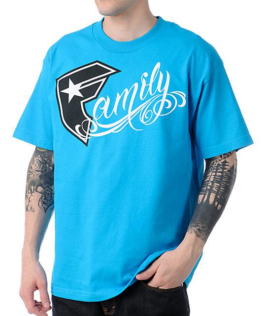 Famous Stars & Straps BOH Family Blue T-Shirt