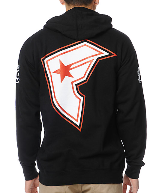 Famous Stars & Straps Ball Player Black Pullover Hoodie