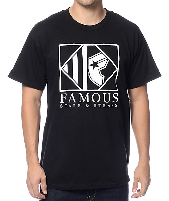 Famous Stars & Straps Boxed Up Black T-Shirt