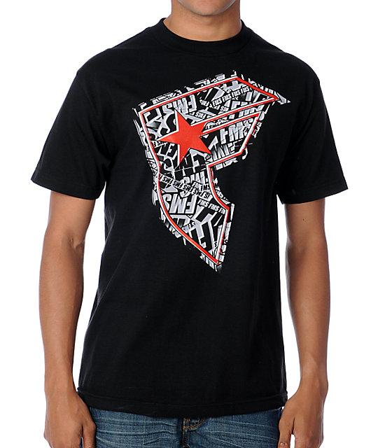 Famous Stars & Straps Break BOH Black T-Shirt
