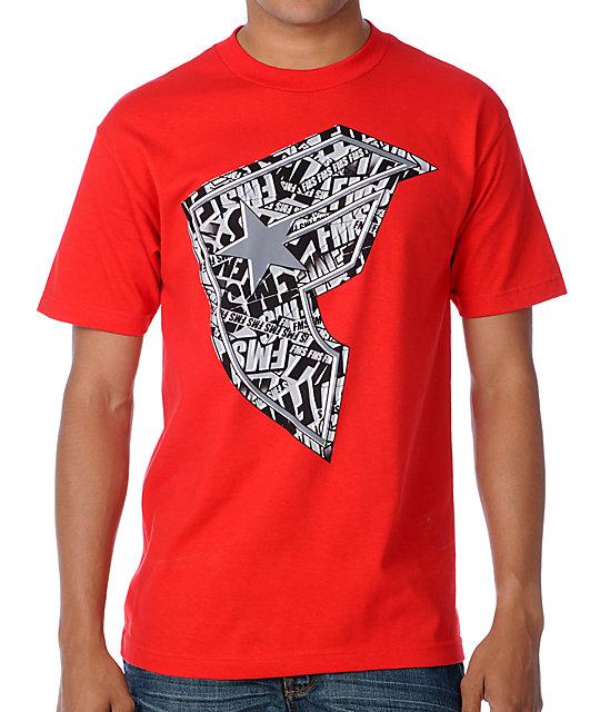 Famous Stars & Straps Break BOH Red T-Shirt