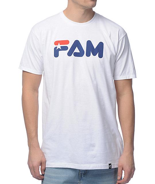 Famous Stars & Straps FAM White T-Shirt