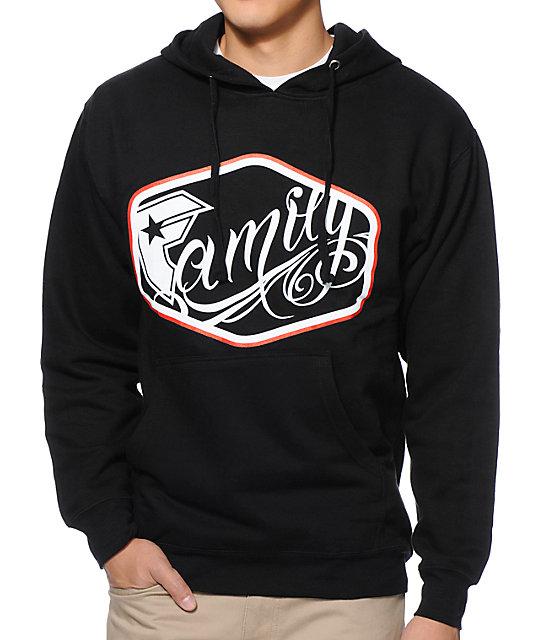 Famous Stars & Straps Fam League Black Pullover Hoodie