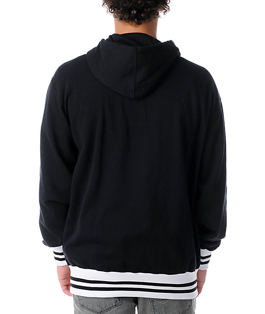 Famous Stars & Straps Family Forever Black Zip Up Hoodie