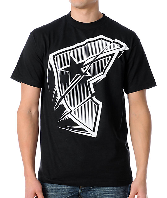 Famous Stars & Straps Flash Forward Black T-Shirt