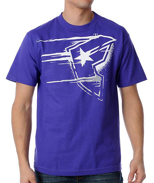 Famous Stars & Straps Mercyfull Purple T-Shirt