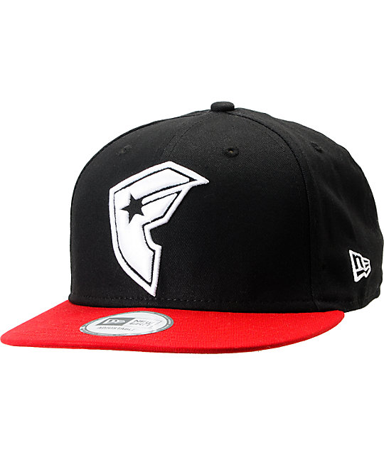 Famous Stars & Straps OG Black & Red New Era Snapback Hat