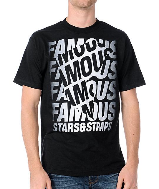 Famous Stars & Straps Rotations Black T-Shirt