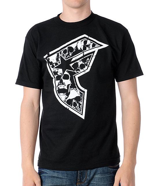Famous Stars & Straps Skullz BOH Black T-Shirt