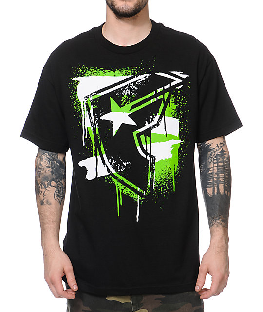 Famous Stars & Straps Sludge Black T-Shirt