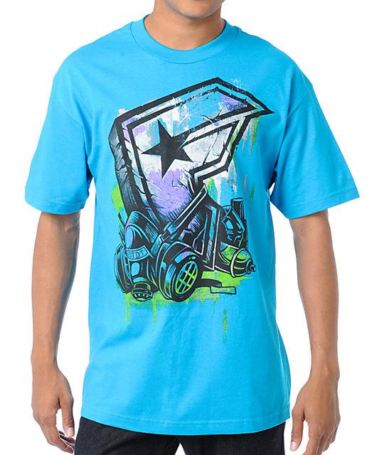 Famous Stars & Straps Wasteland Turquoise T-Shirt