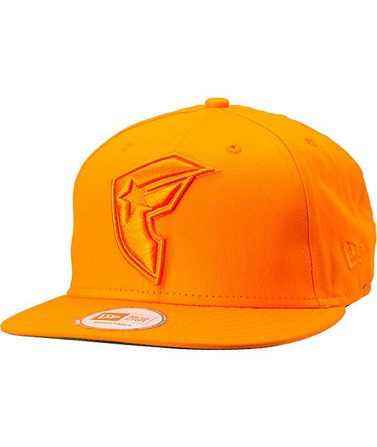 Famous Stars & Straps Woodlands Orange New Era Snapback Hat