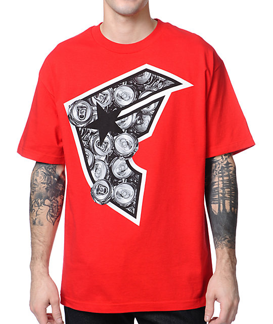 Famous Stars & Straps x Yelawolf Cans BOH Red T-Shirt
