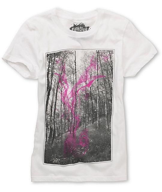 Fifth Sun  Summer White T-Shirt