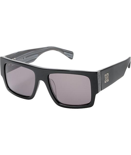 Filtrate Proper Gloss Black & Marble Sunglasses