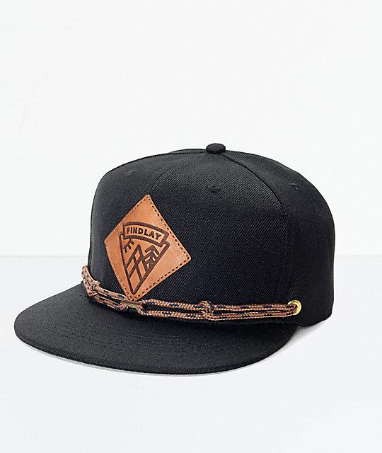 Findlay Lockport Black Snapback Hat