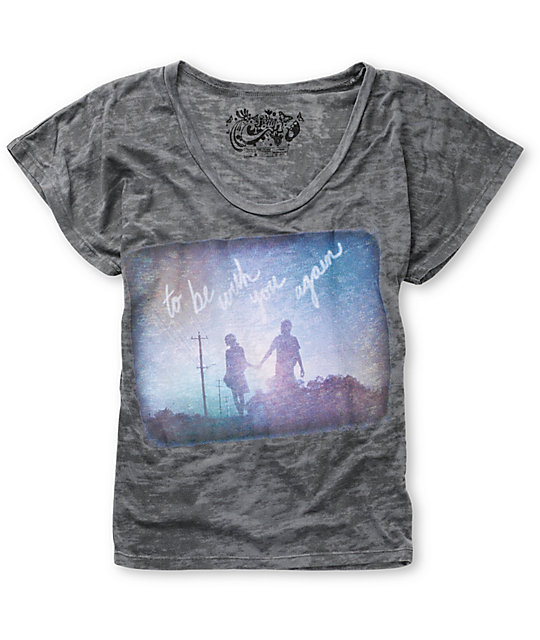 Five Crown To Be With You Again Charcoal T-Shirt