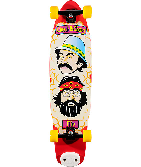 "Flip Cheech & Chong 36""  Shred Sled Complete Longboard"