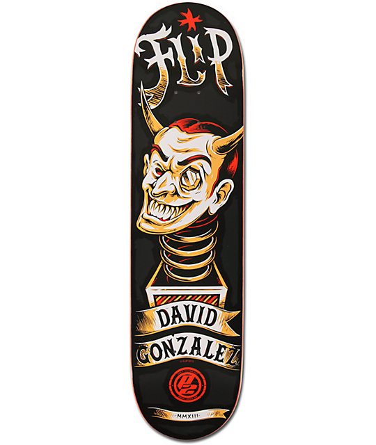 "Flip Gonzalez Mystic P2 8.0""  Skateboard Deck"