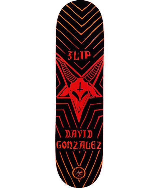 """Flip Gonzalez P2 Satanic Goat 8.0""""  Skateboard Deck"""
