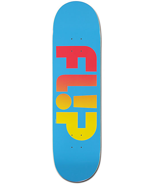 "Flip Odyssey Faded 8.45"" Skateboard Deck"