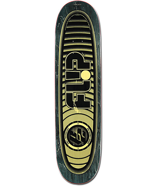 "Flip Oliveira Optical P2 8.13"" Skateboard Deck"