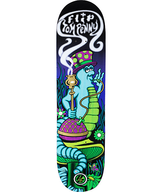 "Flip Penny Lazy Night P2 8.0""  Skateboard Deck"