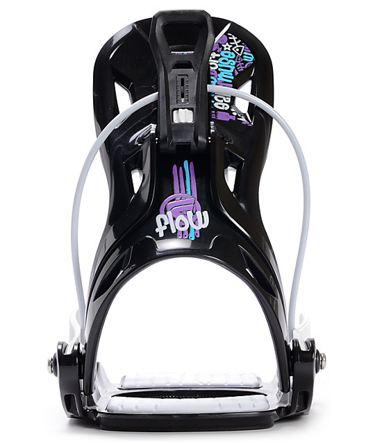 Flow Muse Black Womens Snowboard Bindings