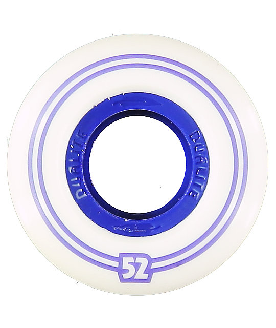 Form Dualite Black & Blue 52mm Skateboard Wheels