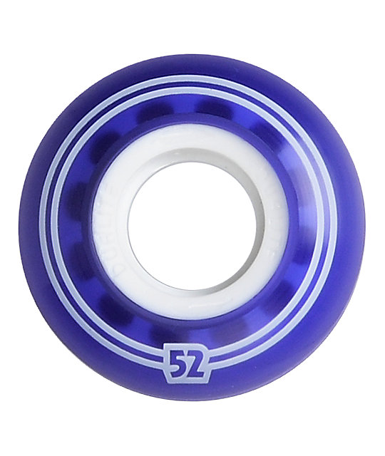 Form Gel Dualite 52mm Purple & White Skateboard Wheels
