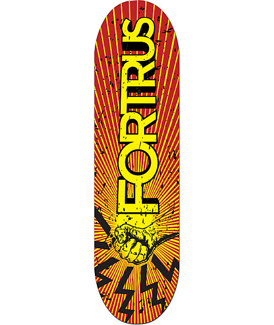 Fortrus Rebel Red Plastic Snowskate