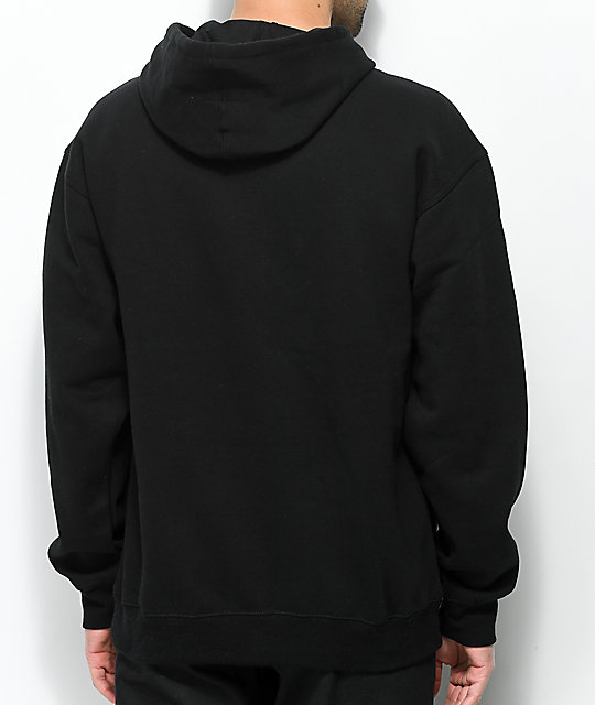 Forty Ninth Supply Co. Alaska Mouth Black Hoodie