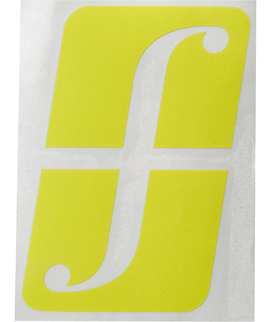 Forum Big F Logo Diecut Sticker