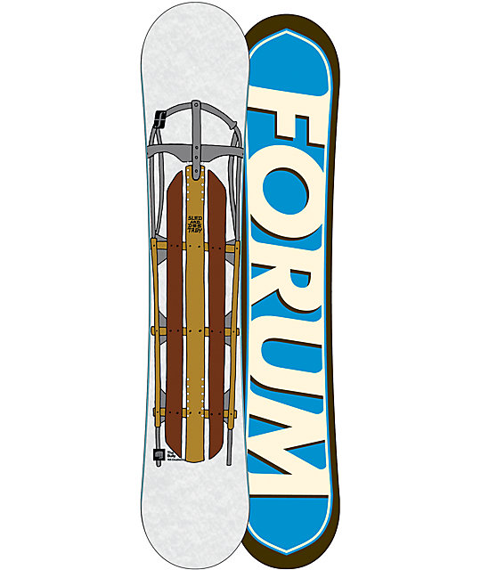 Forum Bully DoubleDog 155cm Mens Snowboard