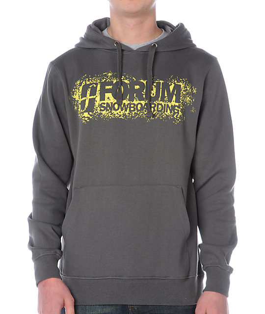 Forum Corp Strip Chair Charcoal Hoodie