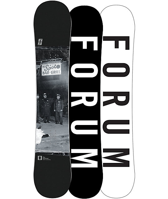 Forum Destroyer Double Dog 154cm Wide Snowboard