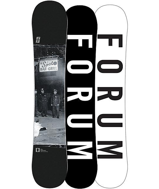 Forum Destroyer Double Dog 154cm Wide Snowboard