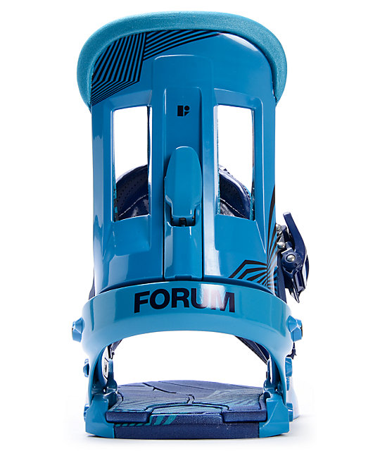 Forum The Faction Blue Snowboard Bindings