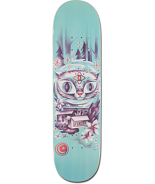 "Foundation Spencer Woodwraith 8.25""  Skateboard Deck"