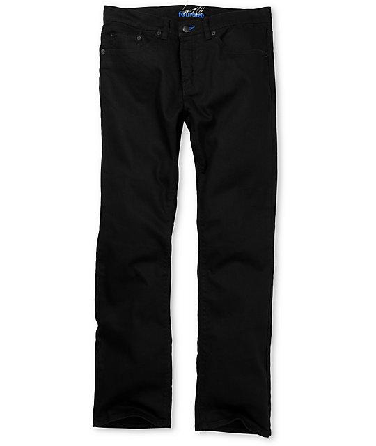 Fourstar Malto Black Slim Jeans