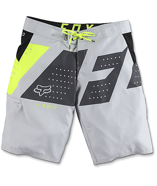 Fox 360 Seca Light Grey Boardshorts