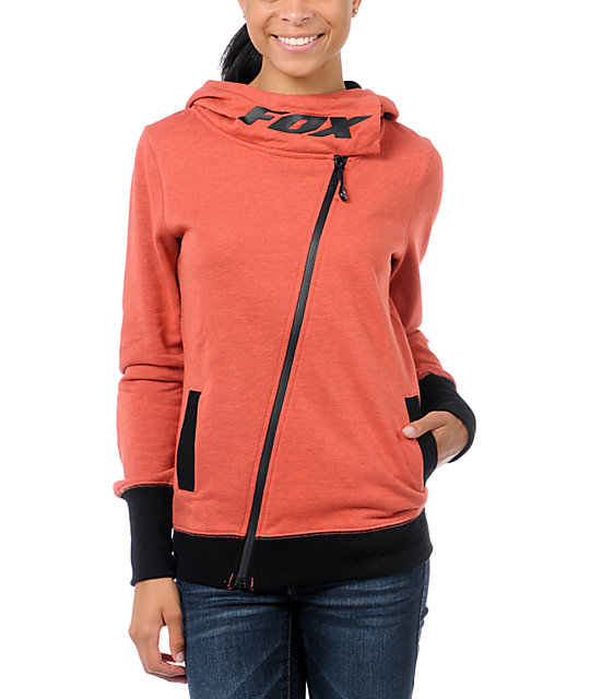 Fox Amateur Orange Crush Zip Up Hoodie