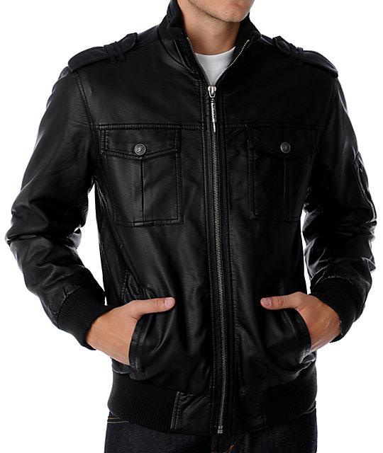 Fox Axxel Black Jacket