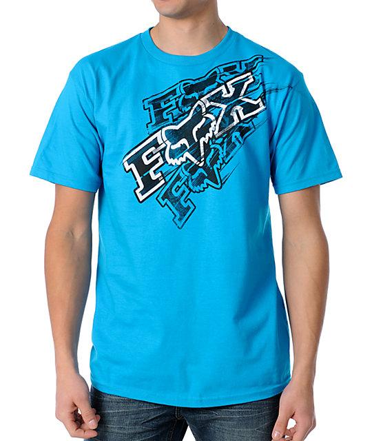 Fox Backfire Blue T-Shirt