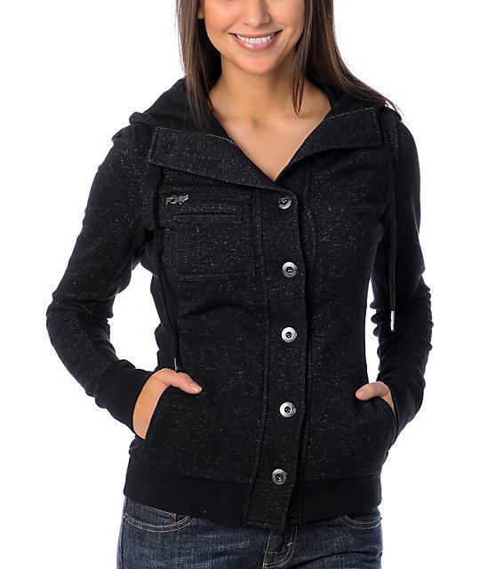 Fox Black Ribbie Bomber Jacket