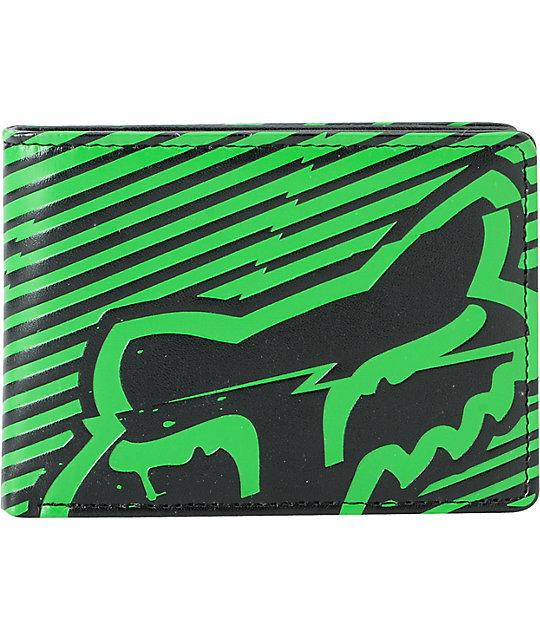 Fox Boltning Green Bifold Wallet