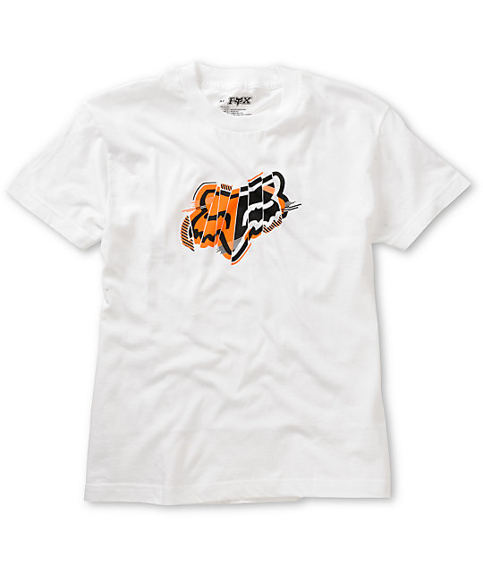 Fox Boys Cutter White T-Shirt