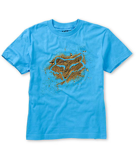 Fox Boys Dirtbag Blue T-Shirt
